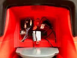 Carrinho Elétrico Mini Cooper S Vermelho com controle remoto