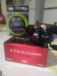 Carretilha Titan bg 12000 pro Esquerda