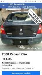 Vendo Renault clio sedan - 2000