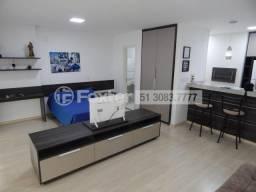 Apartamento à venda com 1 dormitórios em Cristal, Porto alegre cod:160685