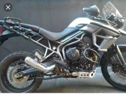 Ponteira esportiva moto Triumph
