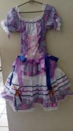 Um vestido p festa junina