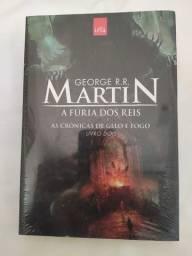 A Fúria dos Reis - As Crônicas de Gelo e Fogo - Livro 2 - George R.R. Martin R$40,00