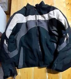 Jaqueta e calça marca Zebra e bota para Piloto de Moto