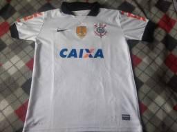 Camisa Corinthians Patch Campeão Mundial 2012