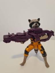 Boneco Rocket Raccoon Guardiões Da Galáxia Titan Hero