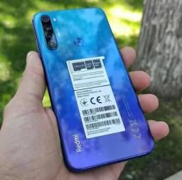 Xiaomi Redmi Note 8 64Gb 4Gb Ram Neptune Blue Novo Lacrado