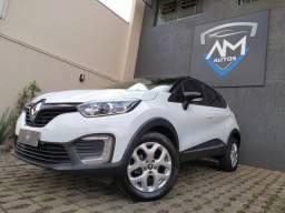 Renault Captur 1.6 Life Automatica 2019 Bxo Km Único Dono Zera