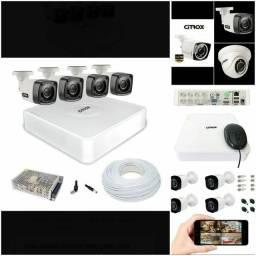 Kit câmera completo parcelado em promoção