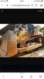 Trator de Esteira Caterpillar D6 T Ano 2012 Impecável
