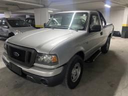 Ford ranger 2007 xls 2.3 gnv cabine simples muito nova.