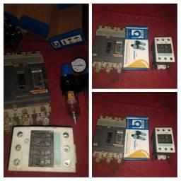 Dijuntor 160A / Contatora 220 / Reguladora de ar comprimido