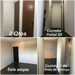 Apartamento Quitado/ Reformado - Sl, Coz, 2 Qts, 2 Wc, A. Serv. - Conj Beira Mar - Janga