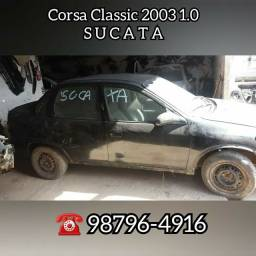 Corsa Classic 2003 1.0 SUCATA
