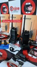 Rádio Comunicador Walk Talk Baofeng 777s 4km em ária aberta<br><br>