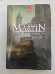 A Tormenta das Espadas- As Crônicas de Gelo e Fogo - Livro 3 - George R.R. Martin R$32,00