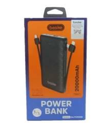 (NOVO)Carregador Portatil Power Bank 20000mah Basike Com três Saídas