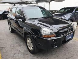 Hyundai Tucson 2.7 V6, Blindado 3A, Automatico, Teto Solar, Couro