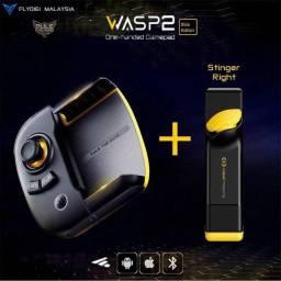 Controle - Flydigi Wasp 2 - Pubg, Freefire e Cod