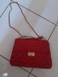 Bolsa Felicia Vermelha