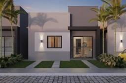 Casa 2/4 com laje em condomínio no SIM - Reserva Guarujá - Jardim Brasil