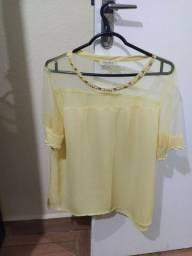 Camisa feminina Manza - nova