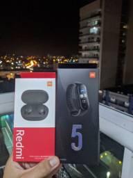 SmartBand XIAOMI MI BAND 5 PROMOÇÃO