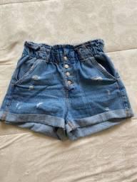 Shorts Jeans Zara 40