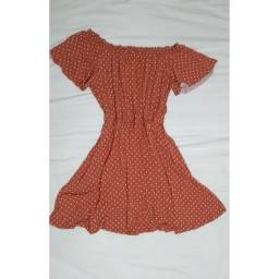 Vestido de malha ciganinha