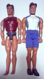 Bonecos da Marca Max Steel