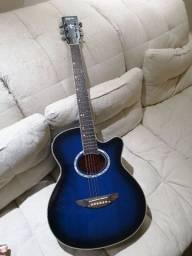 Violão elétrico Tagima Dallas azul
