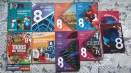 Livros Teláris 8 ano completos e atuais