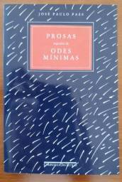 Prosas seguidas de odes minimas - José Paulo Paes