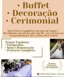 PACOTE COMPLETO DE CASAMENTO E FESTA DE 15 ANOS E CEROMONIAL