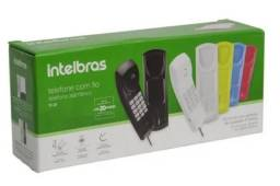 Telefone Intelbrás com Fio Gondola TC20 / Preto - Novo
