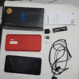 Samsung S9plus, semi novo, na caixa. Com documento.