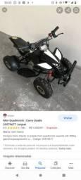Quadriciclo infantil a gasolina