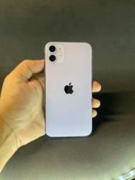 iphone  11 64GB lilás ( vitrine )