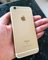 iPhone 6s gold 64gb Vitrinni + garantia e cabo