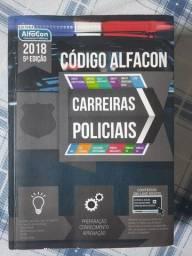 Livro Código alfacon - carreiras policiais