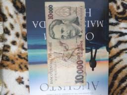 Cédula Antiga 10 mil Cruzeiros