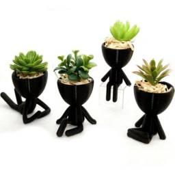Vasos para mini plantas