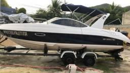 lancha 23 pes cabinada euroboat 230