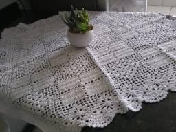 Trilho de mesa em crochê