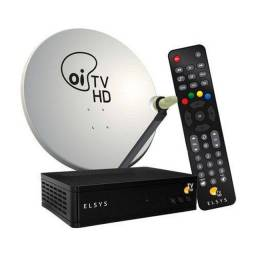Kit Oi TV com antena de 0,60cm
