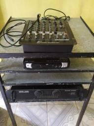 Vendo ou troco equipamento de som completo