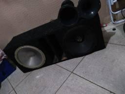 Vendo dois falante e duas corneta