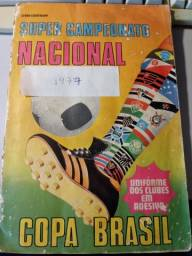 Álbum Super Campeonato Nacional Copa Brasil 1977