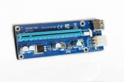 Cabo Riser PCI-e adaptador para mineração c/garantia