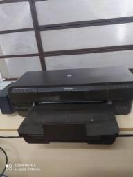Impressora color HP c/bulk impecável